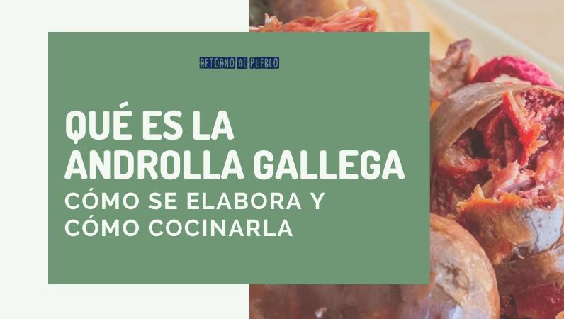 Qué es la androlla gallega, cómo se elabora y cómo cocinarla