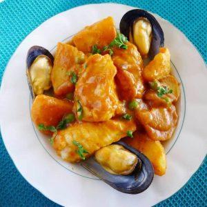 merluza a la gallega platos gallegos