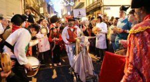 celebración gallega entroido