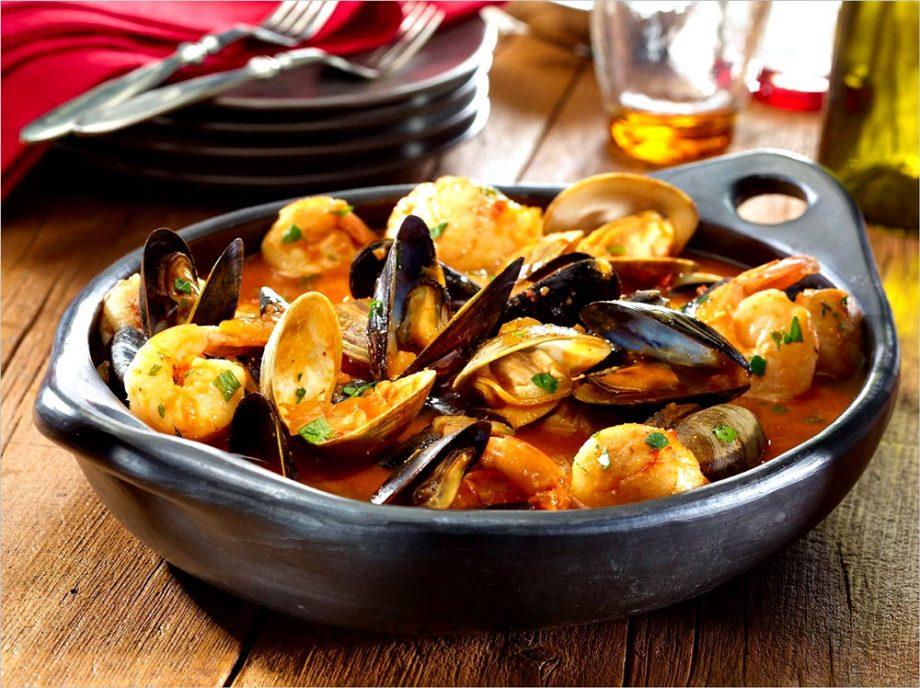 mariscos platos gallegos
